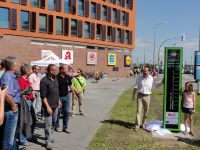 Inauguration of the 2nd cycling monitor in Rostock © Gregor Mandt