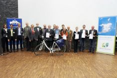 National awarding ceremony in Offenburg 2012 © Climate Alliance