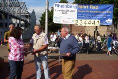 Local awarding ceremony in Rheinberg © Climate Alliance