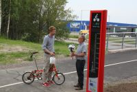 Inauguration of the cycling monitor in Kalmar © Thomas Eidrup