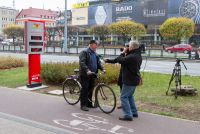 1st Cycling Monitor in Gdansk